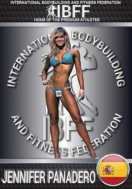 Jennifer Panadero from Spain